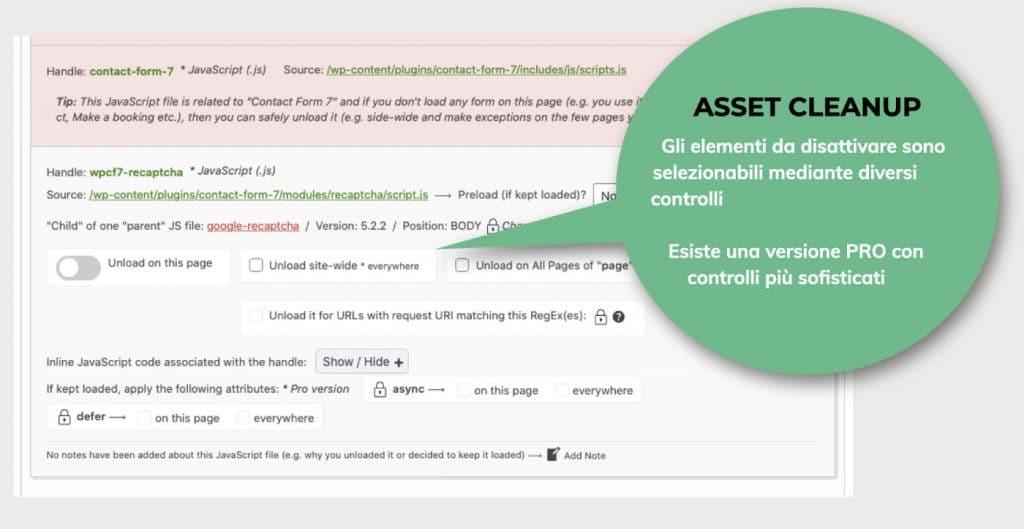 Sito veloce: come impostare il plugin Asset Cleanup - NUwebstudio